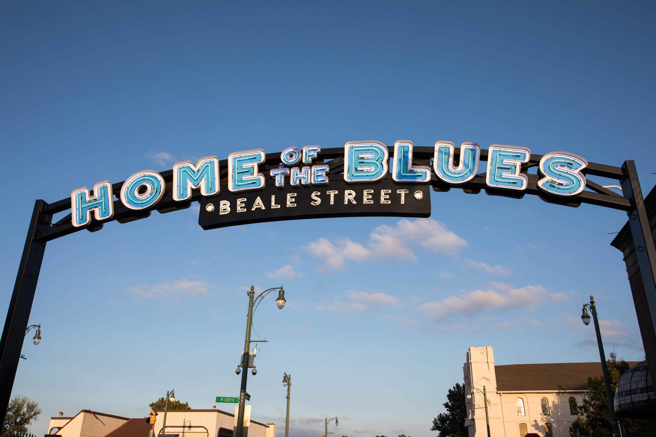 Shot of Beale St. in Memphis TN