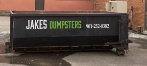 dumpster for construction